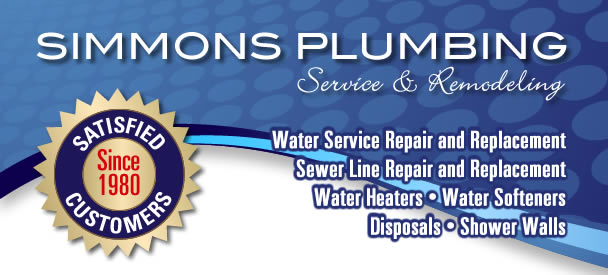 Water service repair and replacment, sewer repair, water heaters, water softeners, disposals